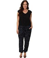 DKNY Jeans - Plus Size Camo Print Jumpsuit