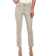 DKNYC - Bi-Stretch Skinny Ankle Pintuck Pants