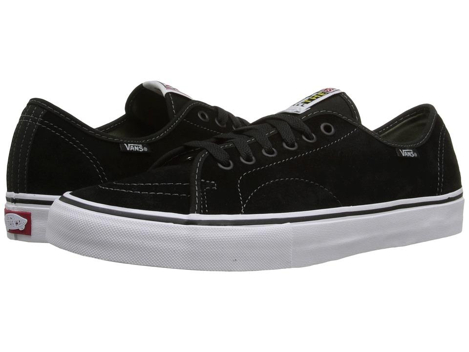 Vans - AV Classic (Black/Olivine) Mens Skate Shoes