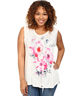 DKNY Jeans - Plus Size Summer Floral Tee