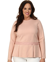 Mynt 1792 - Plus Size Peplum Top