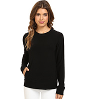 KAMALIKULTURE by Norma Kamali - Long Sleeve Sporty Top