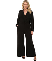 Mynt 1792 - Plus Size Sheer Sleeve Jumpsuit