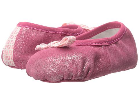 Fendi Kids Ballet Crib Shoes (Infant)