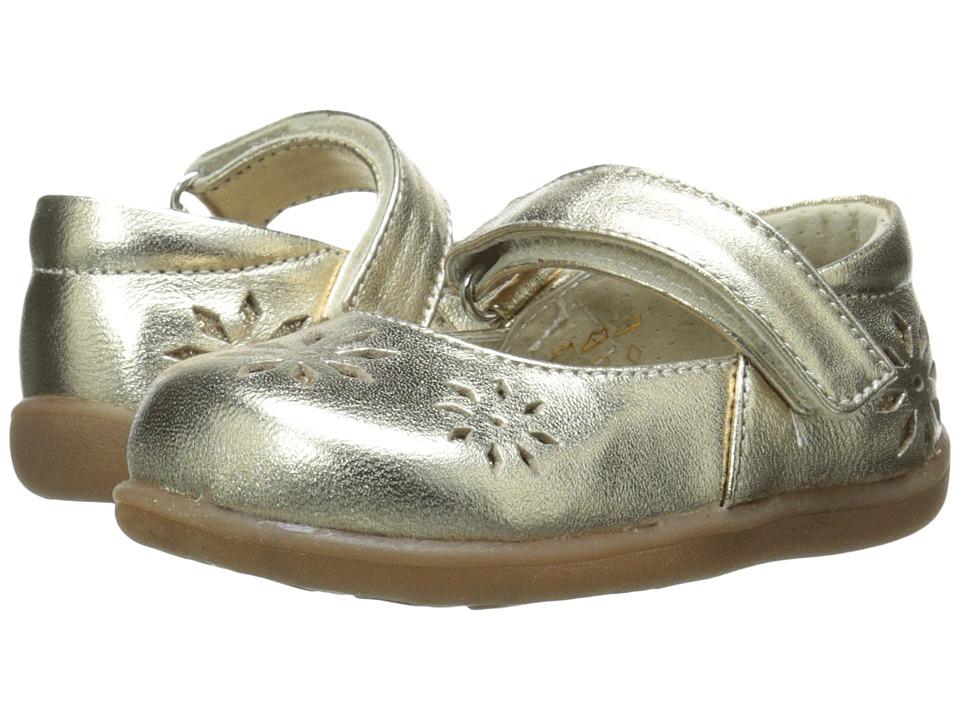 See Kai Run Kids Riolyne Toddler Gold Girls Shoes