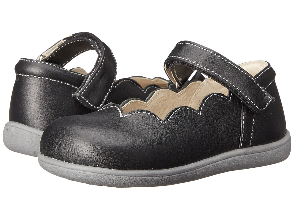See Kai Run Kids Savannah (Toddler) (Black) Girls Shoes