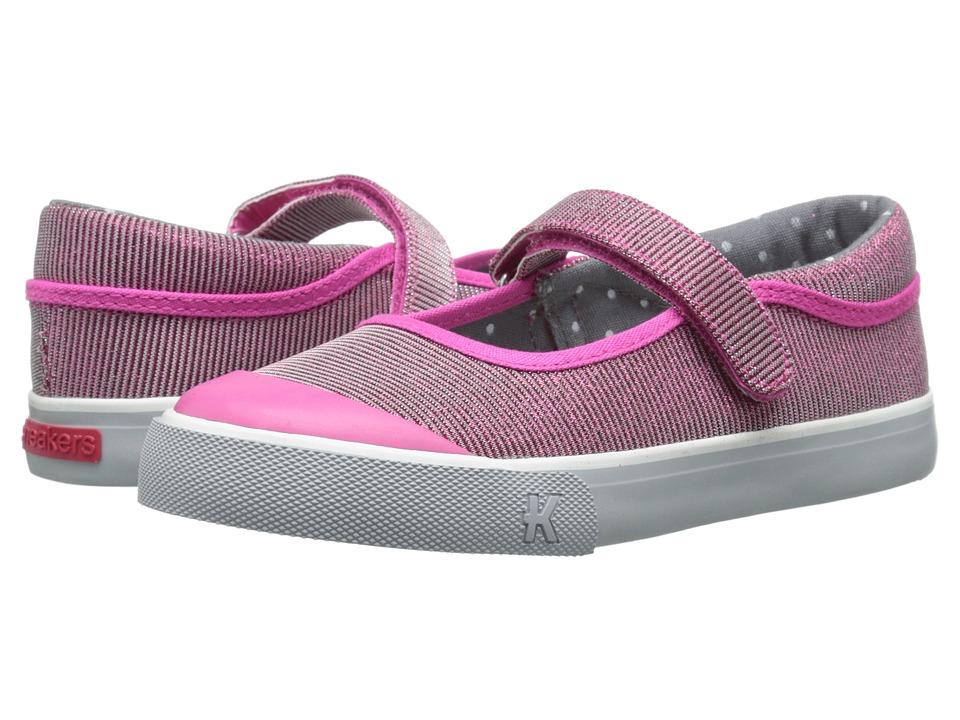 See Kai Run Kids Florence Toddler/Little Kid Hot Pink 1 Girls Shoes