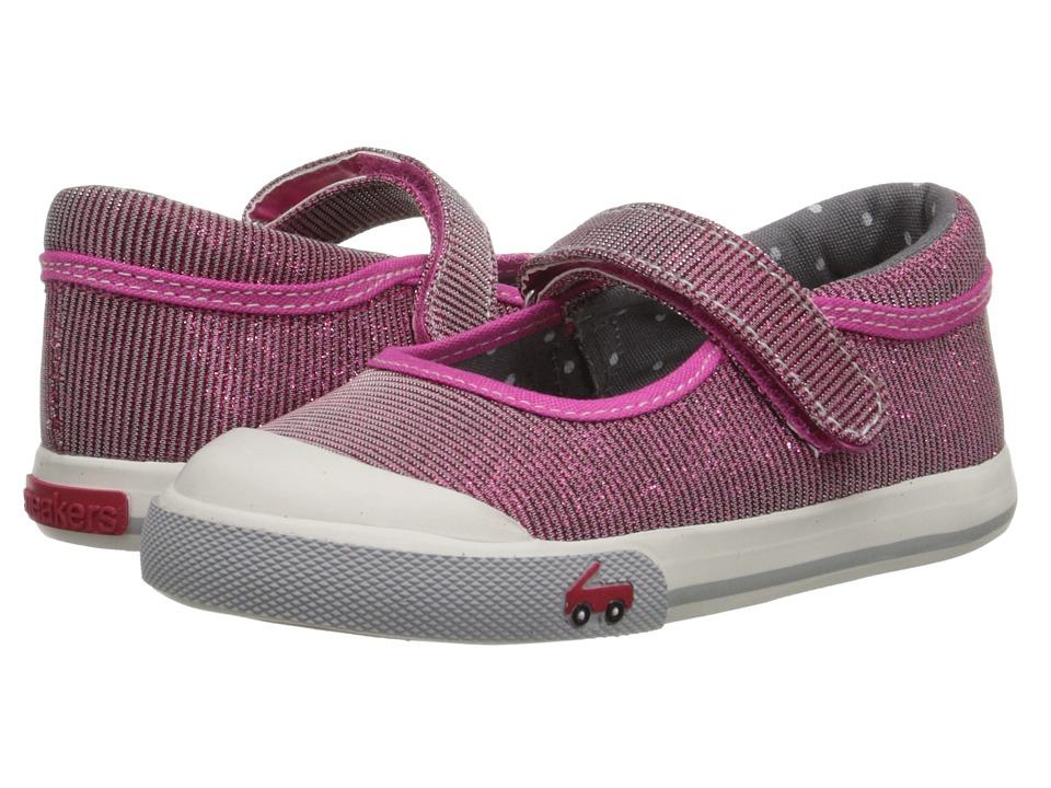 See Kai Run Kids Marie Toddler Hot Pink 1 Girls Shoes