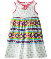 Us Angels - Sleeveless Bow Front Empire Dress (Toddler)