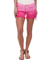 True Religion - Kiera Ombre Shorts in Fuchsia