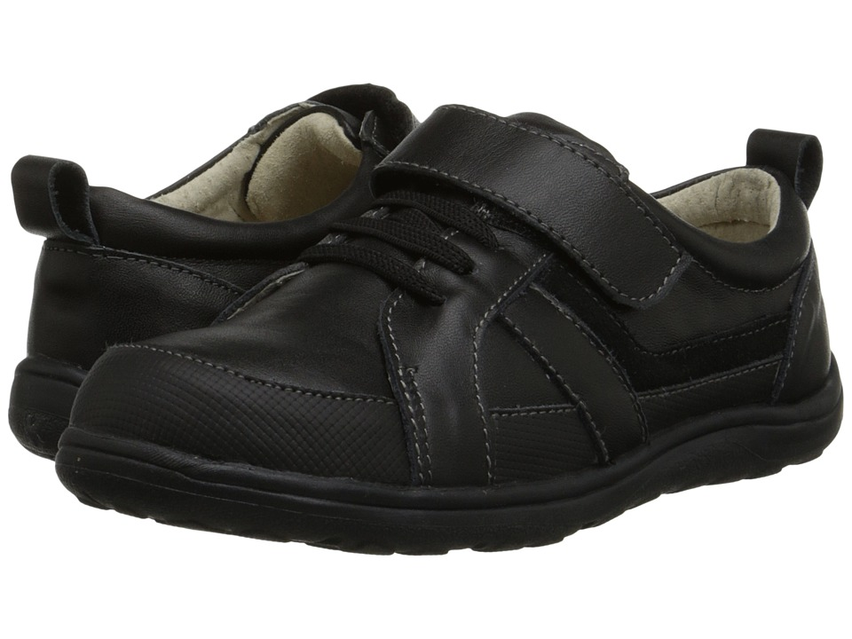 See Kai Run Kids Anton Toddler/Little Kid Black Boys Shoes