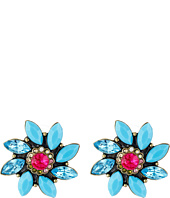 Betsey Johnson - Turqs and Caicos Flower Stud