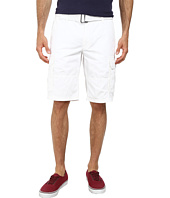 DKNY Jeans - Mini Ripstop Cargo Shorts in White