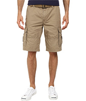 DKNY Jeans - Mini Ripstop Cargo Shorts in Lead Gray