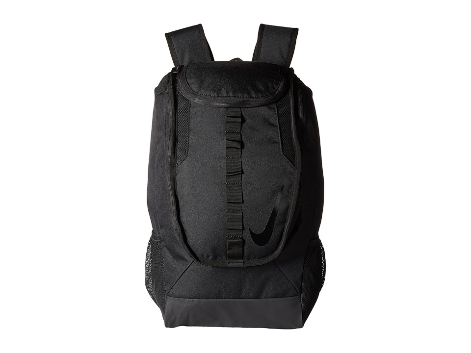 Nike - Football Shield Compact Backpack 2.0 (Black/Black/Black) Backpack Bags
