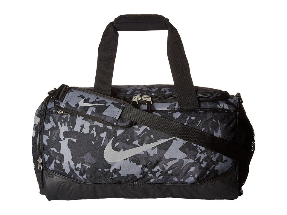 Nike - Team Training Small Duffel (Anthracite/Black/Metallic Silver) Duffel Bags