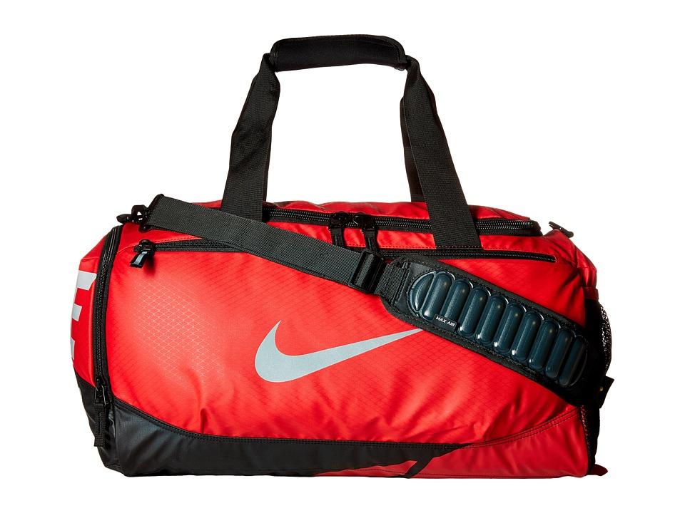 Nike - Vapor Max Air Small Duffel (University Red/Black/Metallic Silver) Duffel Bags