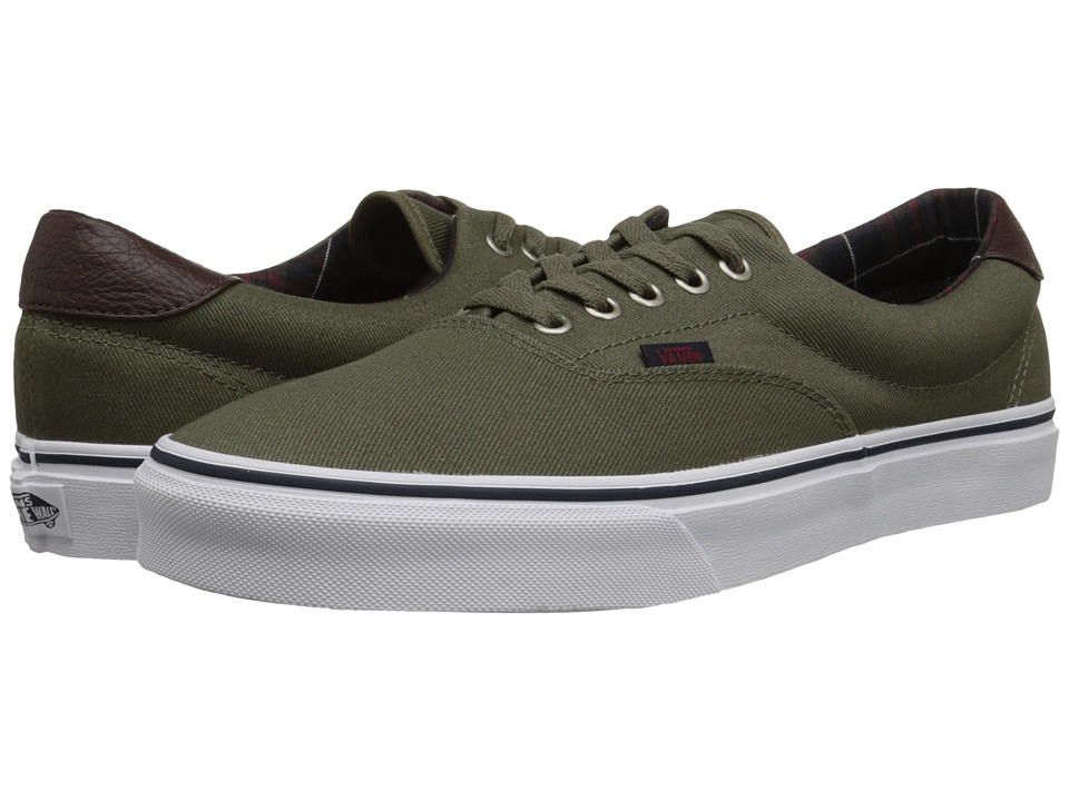 Vans Era 59 ((Plaid) Ivy Green) Skate Shoes