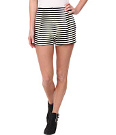 Free People - Stiped Ponte Hi Rise Clean Shorts
