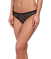 Emporio Armani - Fabulous Flora Lace with Gros Grain Details Thong