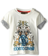 Roberto Cavalli Kids - Short Sleeve Graphic Print Logo Tee (Infant)
