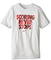 Nike Kids - Scoring Never Stops Tee (Little Kids/Big Kids)