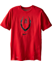 Nike Kids - Vapor Football S/S Top (Little Kids/Big Kids)