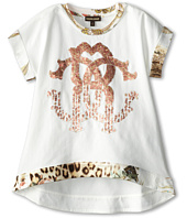 Roberto Cavalli Kids - Short Sleeve Tunic w/ Trim (Toddler/Little Kids)