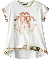 Roberto Cavalli Kids - Short Sleeve Tunic w/ Trim (Big Kids)