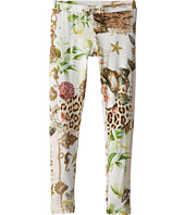 Roberto Cavalli Kids - Leopard and Sea Theme Leggings (Big Kids)