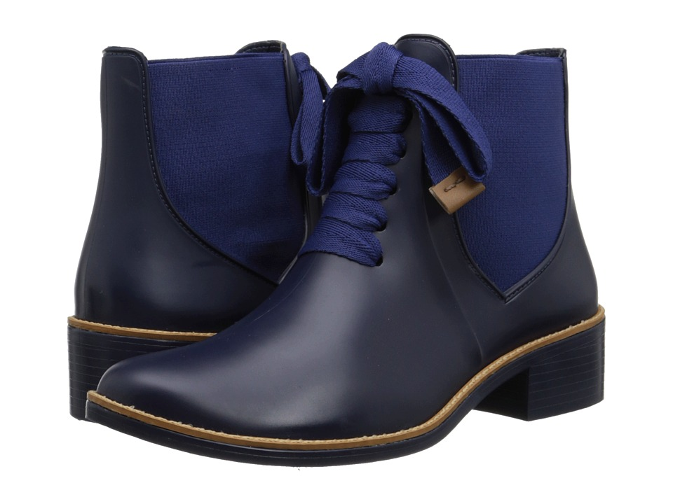 Bernardo Lacey Rain Navy Womens Rain Boots