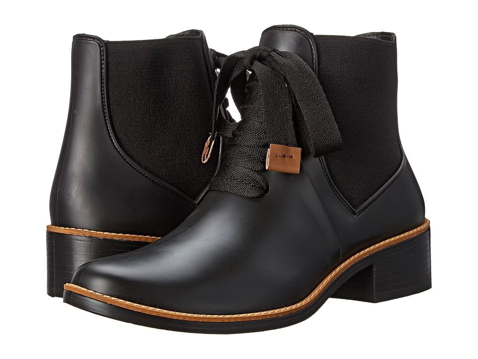 Bernardo Lacey Rain Black Womens Rain Boots