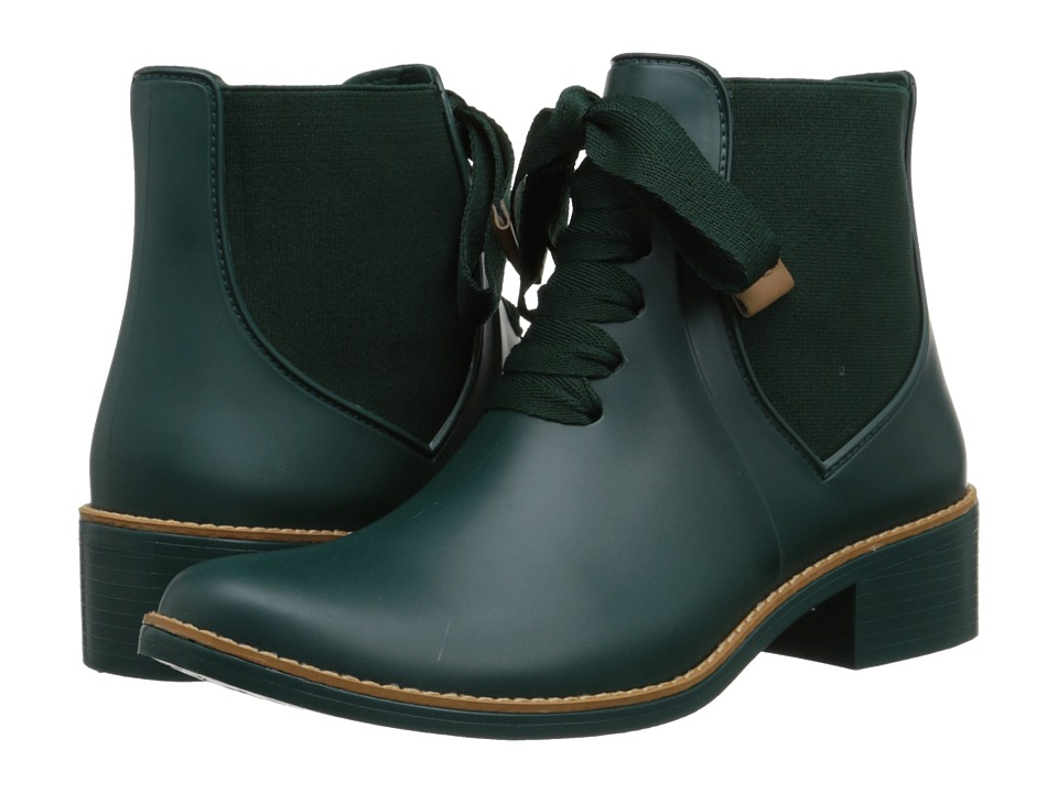 Bernardo Lacey Rain Forest Green Womens Rain Boots