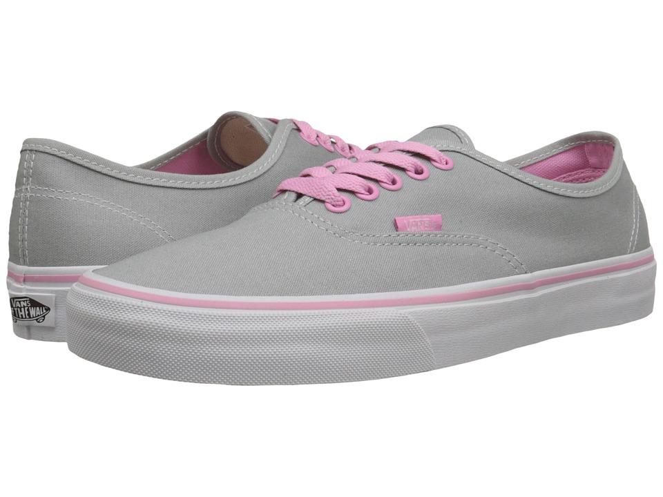 Vans Authentic Pop High Rise/Prism Pink Skate Shoes
