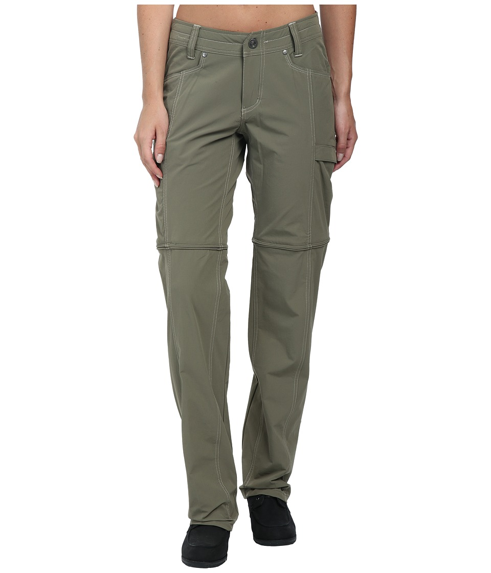 Kuhl Anika Convertible Pant Dark Khaki Womens Casual Pants