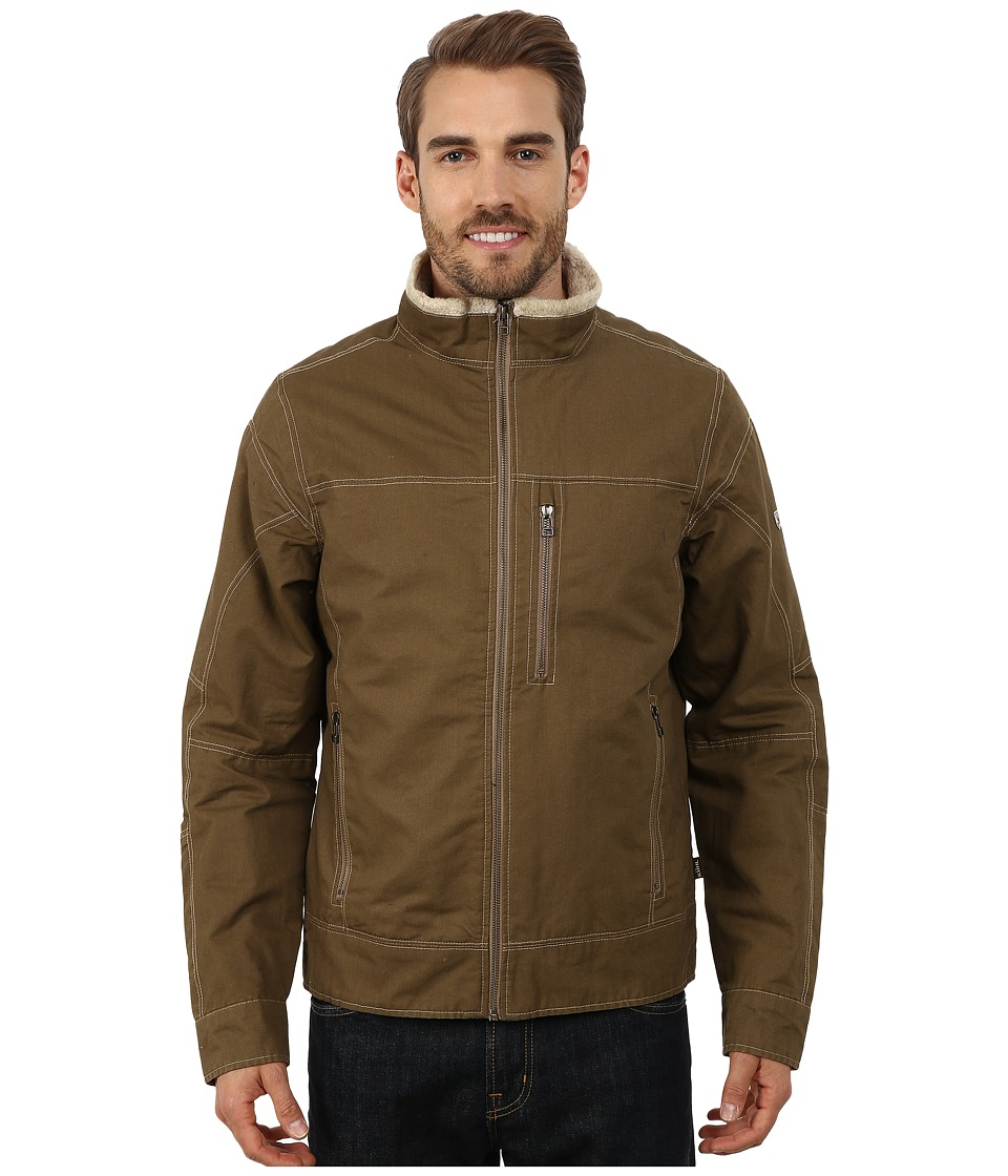 Kuhl Burr Lined Jacket Khaki Mens Coat