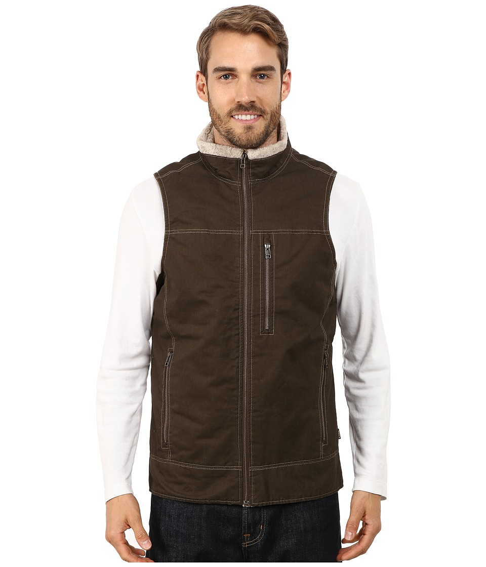 Kuhl Burr Lined Vest Brown Mens Vest