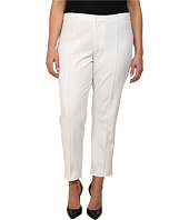 DKNYC - Plus Size Bi-Stretch Skinny Ankle Pintuck Pants