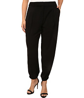 DKNYC - Plus Size Tech Crepe Elasticated Hem Ankle Track Pants