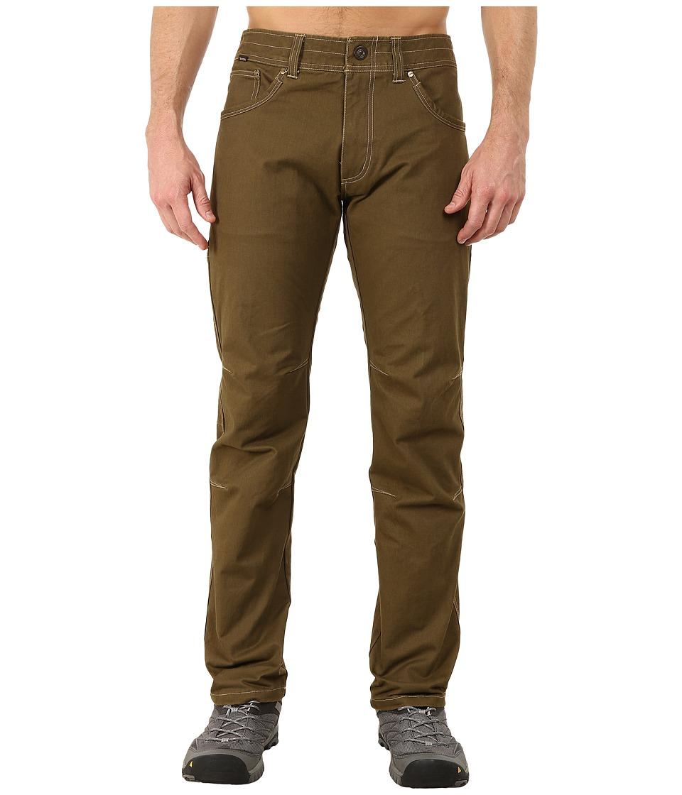 KUHL Rydr Lean Fit Jeans (Dark Khaki) Men