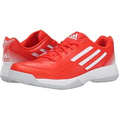 Image of adidas - Sonic Attack (Solar Red/Black/Silver Metallic) Women's Tennis Shoes