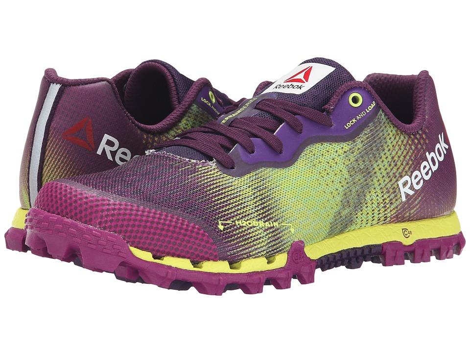 Reebok All Terrain Super 2.0 Solar Yellow/Fierce Fuchsia/Royal Orchid Womens Running Shoes