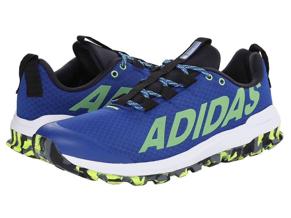 adidas Running Vigor 6 TR Collegiate Royal/Solar Yellow/Onix Mens Running Shoes