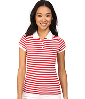 U.S. POLO ASSN. - Tonal Stripe Slub V-Neck T-Shirt