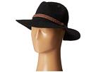 San Diego Hat Company KNH8008 Machine Knit Fedora w/ Braided Suede Trim