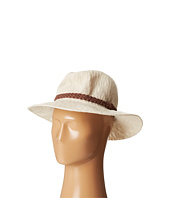 San Diego Hat Company - KNH8008 Machine Knit Fedora w/ Braided Suede Trim