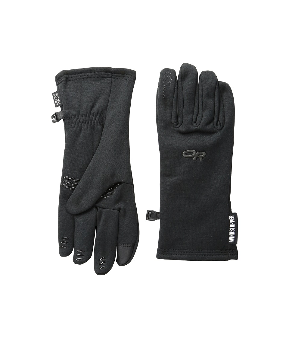 Outdoor Research Backstop Sensor Gloves (Black) Extreme Cold Weather Gloves