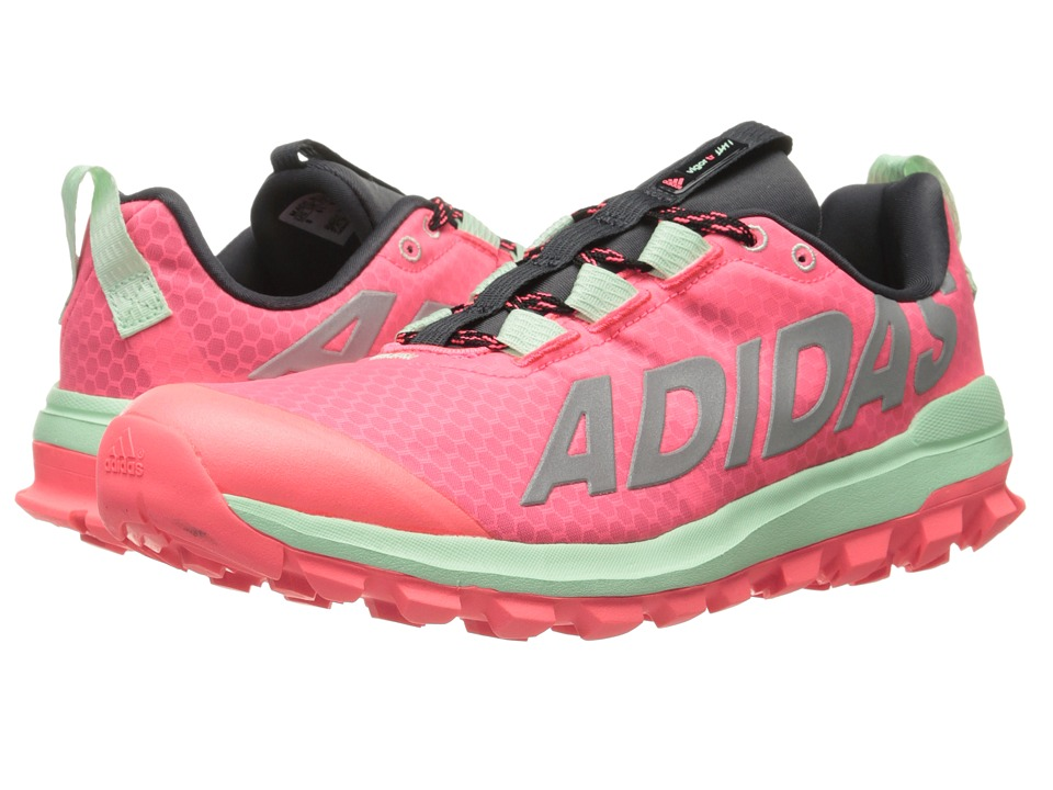 adidas Running Vigor 6 TR Flash Red/Silver Metallic/Frozen Green Womens Running Shoes