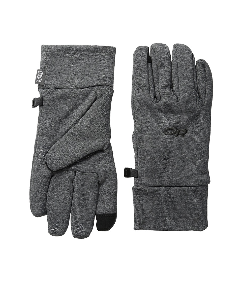 Outdoor Research Pl 400 Sensor Gloves Charcoal Heather Extreme Cold Weather Gloves