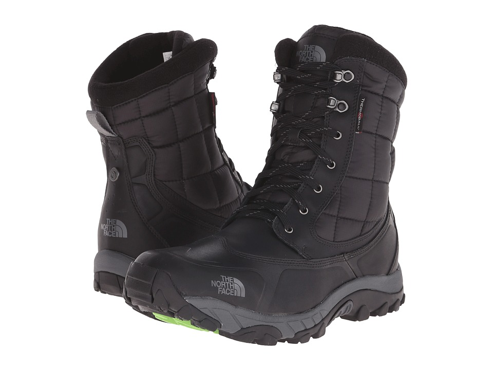 The North Face ThermoBall Utility (TNF Black/Power Green) Men